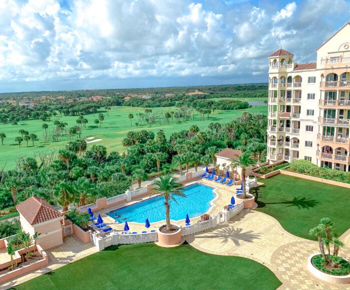 hammock beach golf & spa resort pool grounds