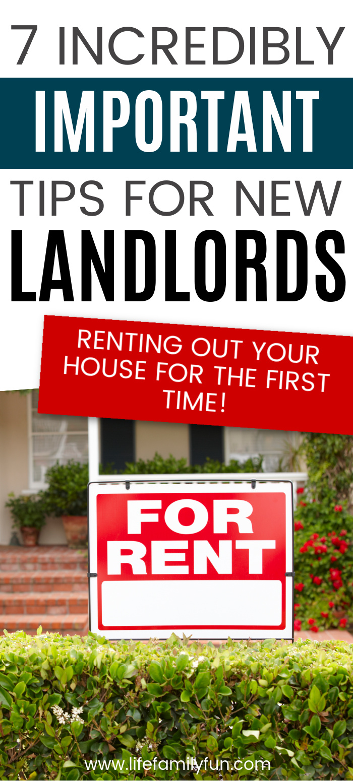 renting out your house pin for pinterest