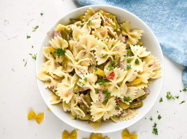 4-Bean Tuna Pasta Salad