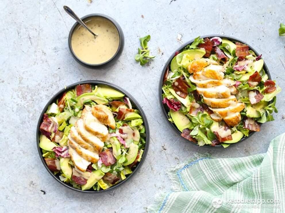 keto chicken salad 5 Ingredient Chicken Keto Salad