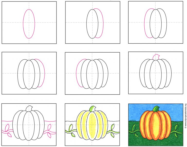 things to draw A Halloween Pumpkin