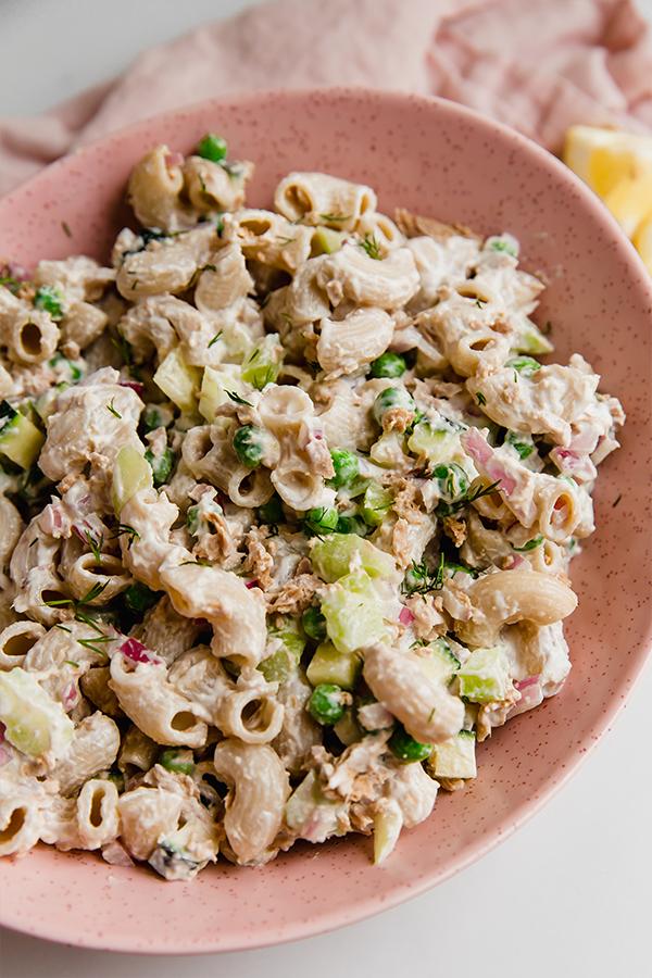 Allergen Free Tuna Pasta Salad