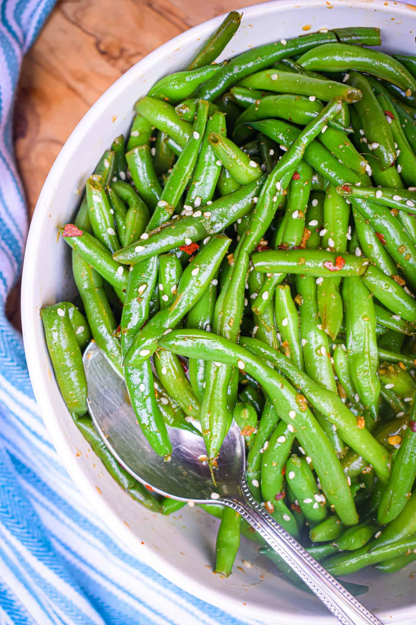Asian Green Bean Salad