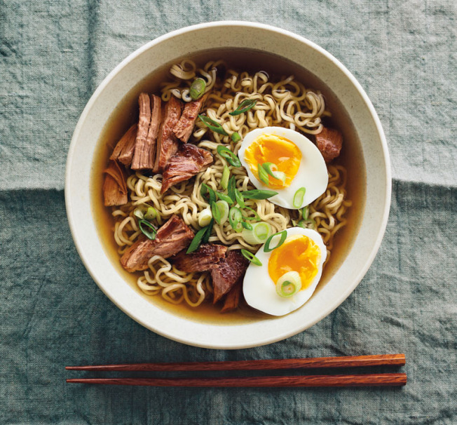 Basic Pork Ramen Soup