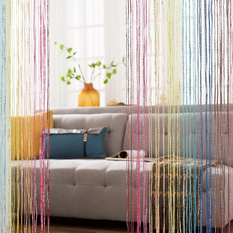 Add Style to Your Home with a Beaded Curtain Door