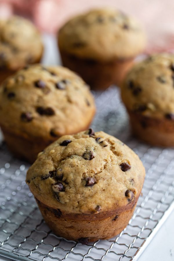 Chocolate Chip Vegan Muffins