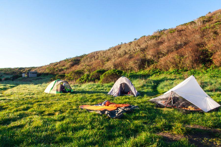 Beach Camping Sites in California