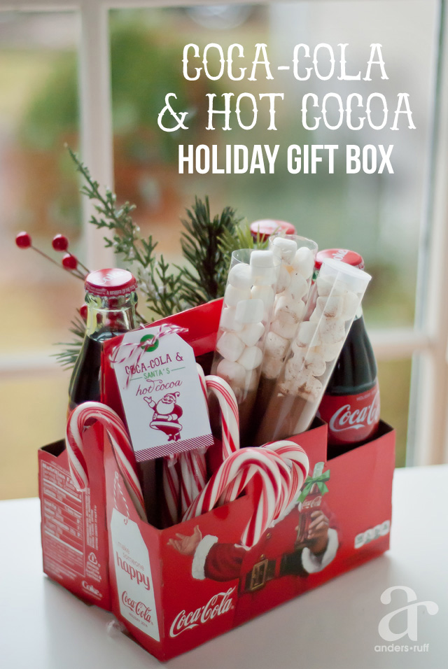 Coca-Cola and Hot Cocoa Gift Basket