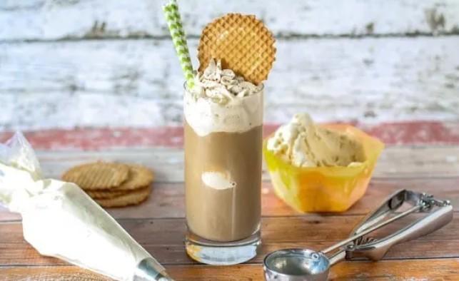 Cold Brew Eiskaffe Dessert