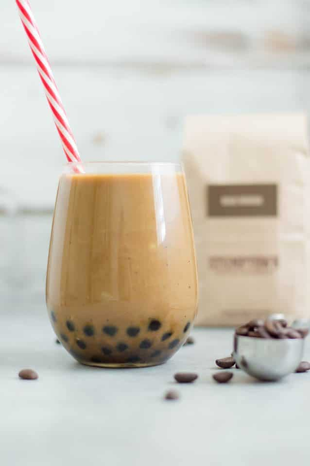 Cold Brew With Boba