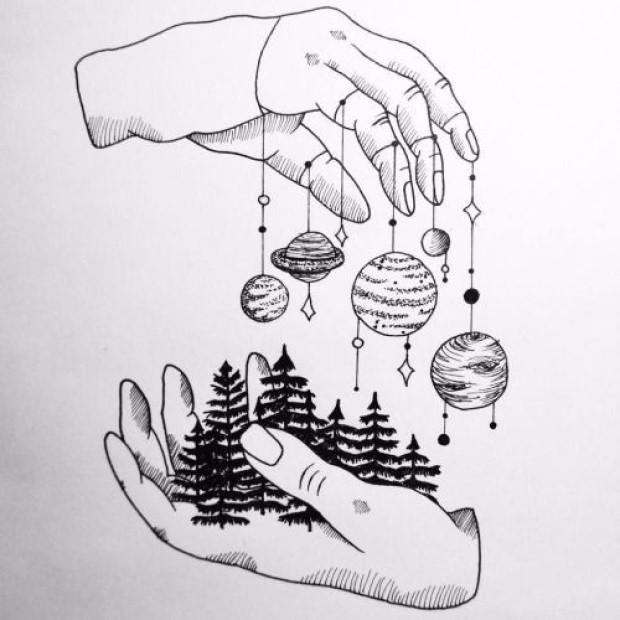 Draw Something Symbolistic