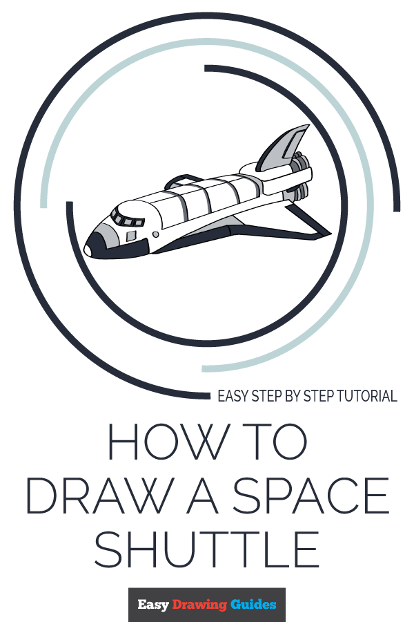 things to draw space rocket
