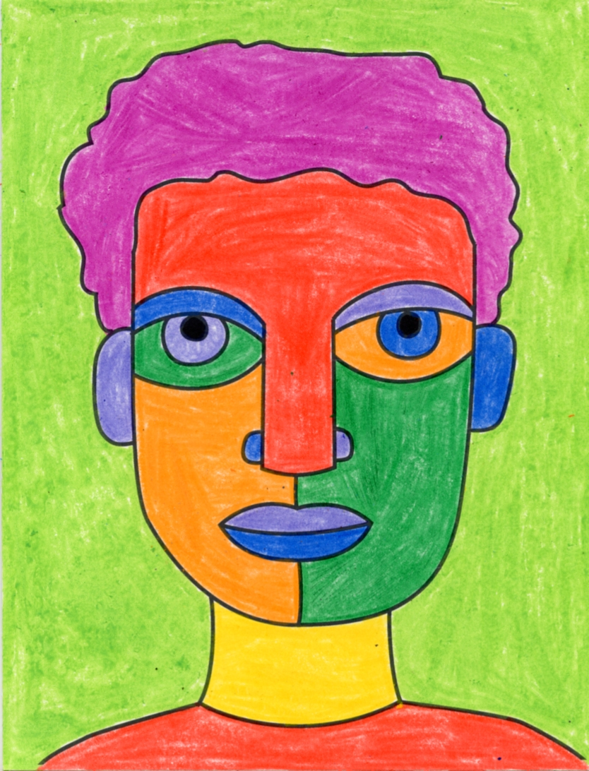Draw an Abstract Self Portrait