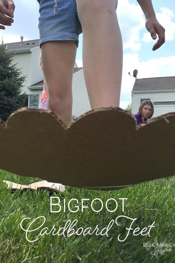 fun family games Giant Feet