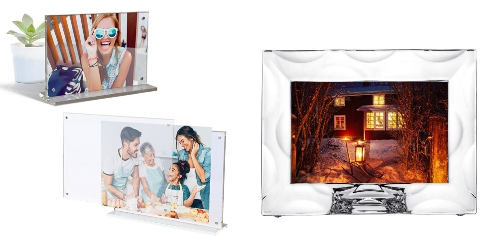 Clear Glass Picture Frames
