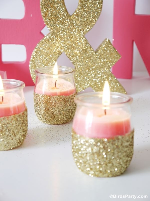 DIY Candle Holdlers