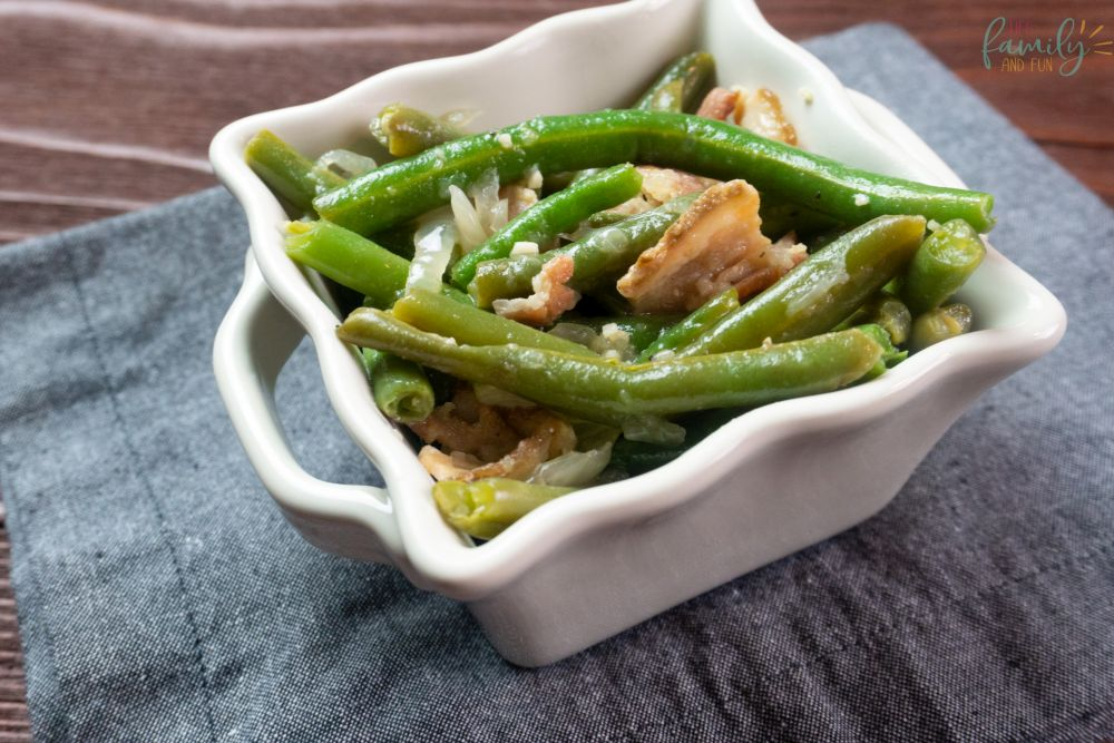 Instant Pot Green Beans and Bacon recipe