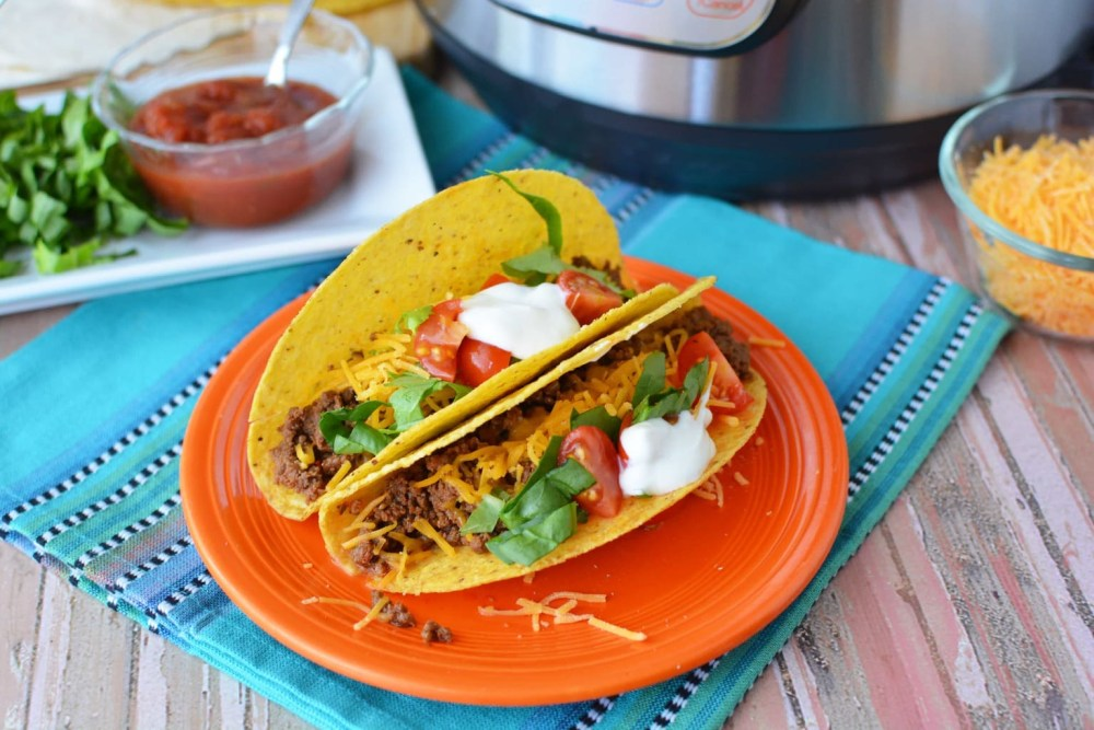 Instant Pot Tacos Meat