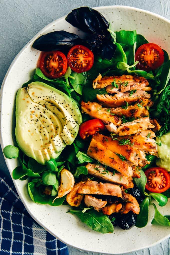 keto chicken salad Keto Chicken Salad with Avocado