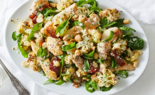keto chicken salad Keto Creamy Chicken Cauliflower Salad