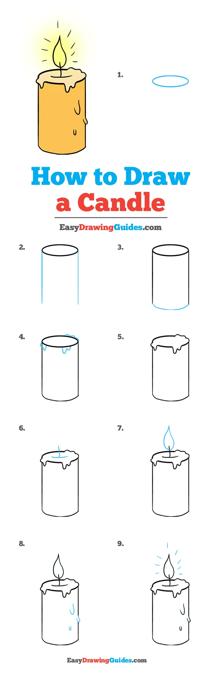 Light Up Your Paper with a Candle