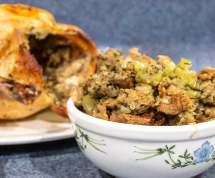 Old Fashioned Celery and Sage Turkey Stuffing