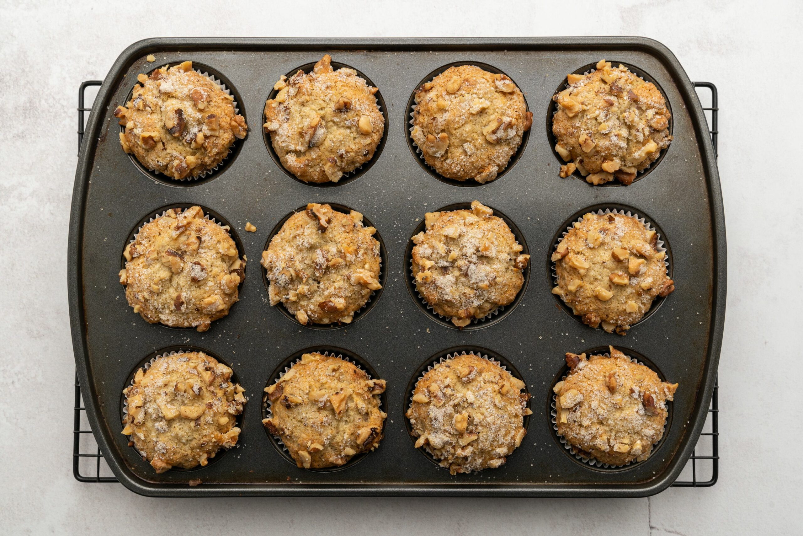 Quick and Easy Banana Muffins
