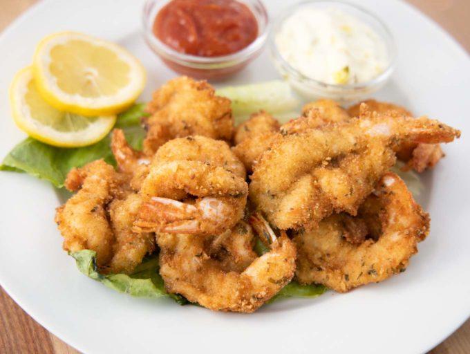 restaurant style fried shrimp