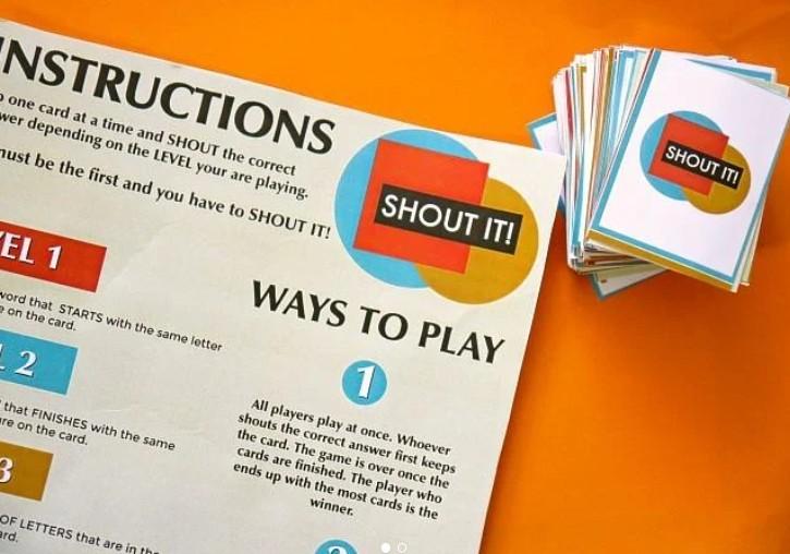 fun family games Shout It!