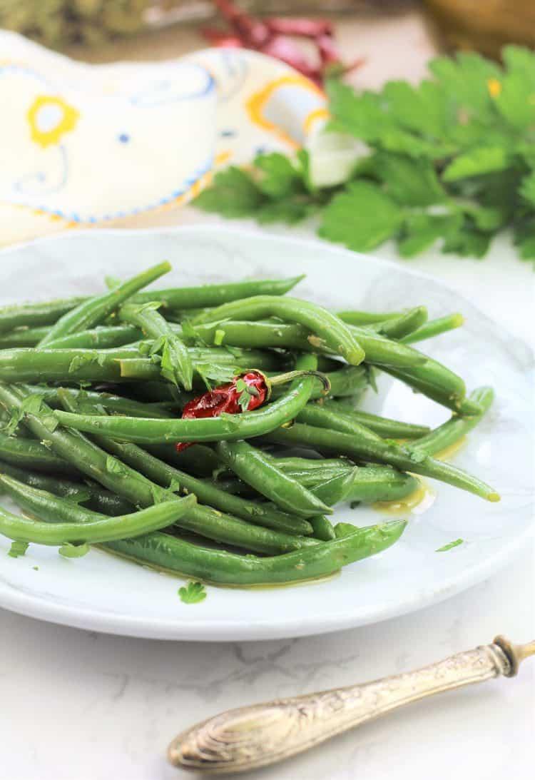 Sicilian Green Bean Salad