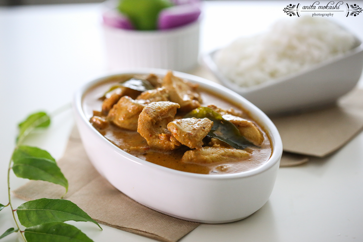 Spicy Southern Indian Chicken Curry