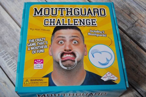 fun family games The Mouthguard Game