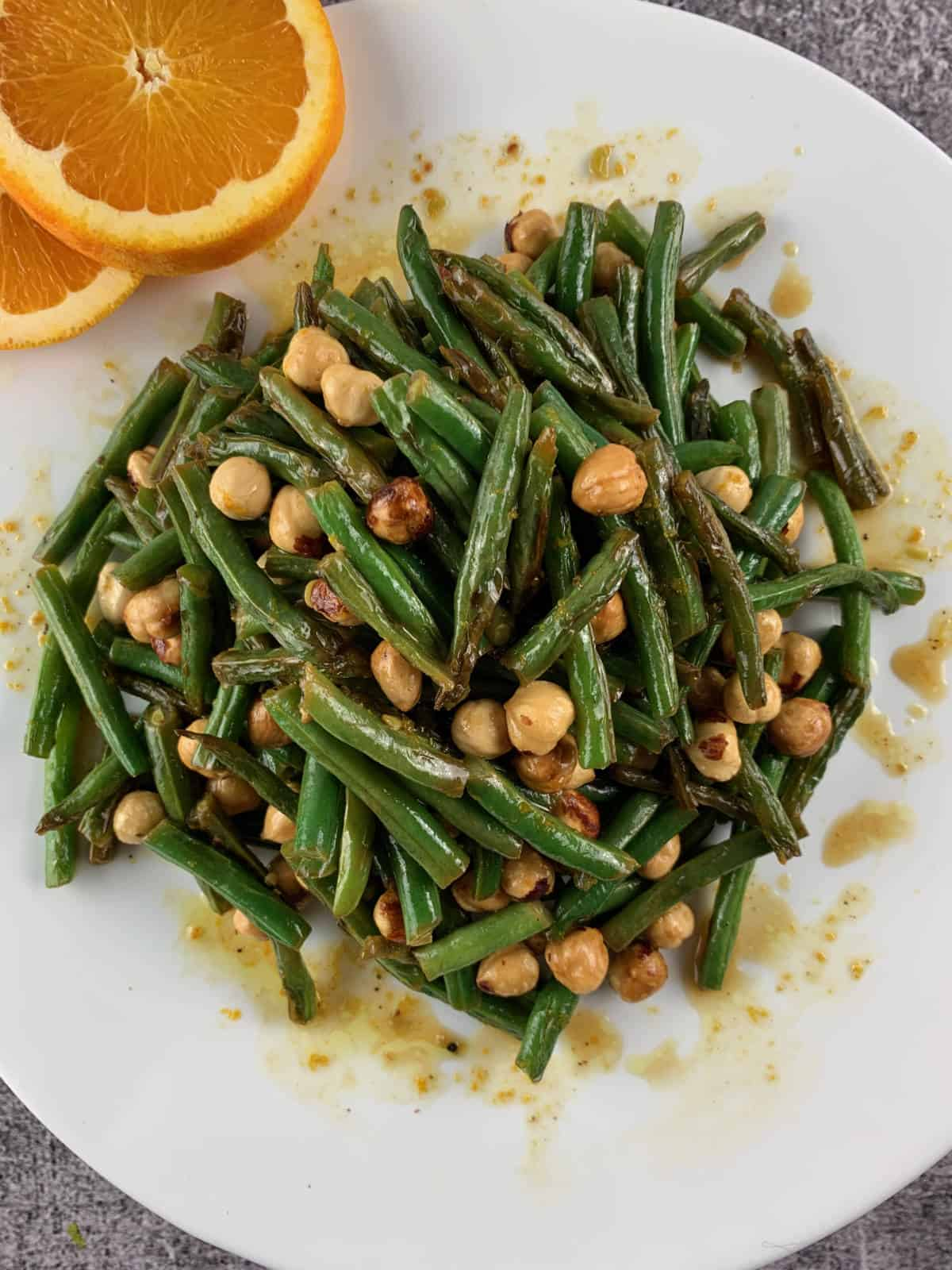 Ultimate Green Bean Salad with Hazelnuts