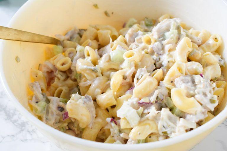 Vegan Tuna Pasta Salad