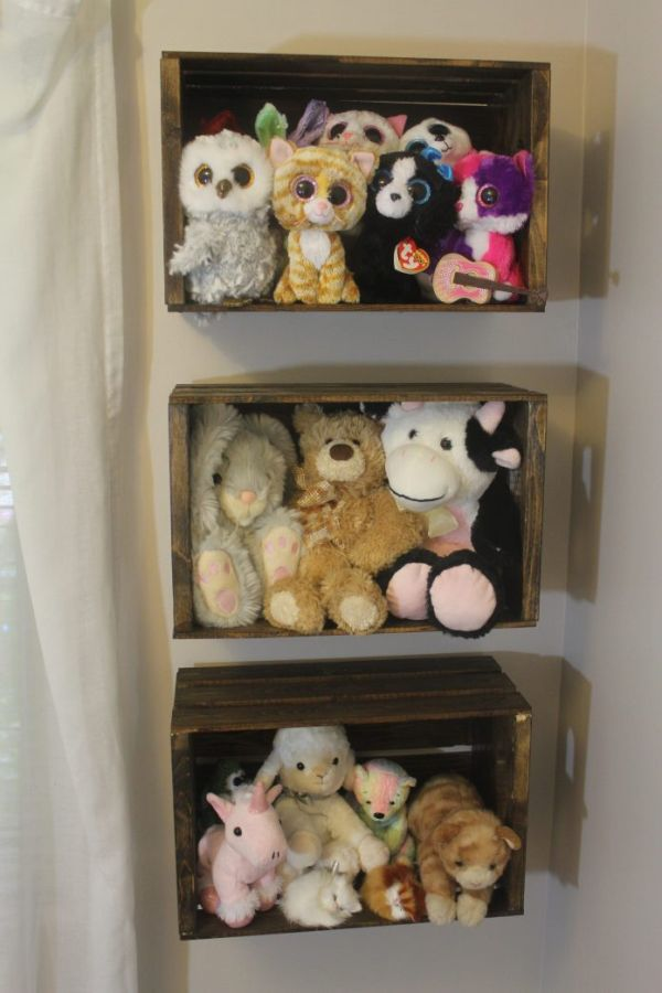 Storing Stuffed Animals
