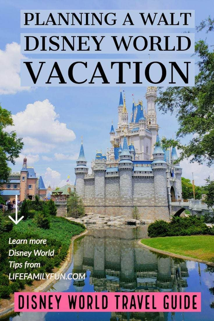 planning a walt disney world vacation