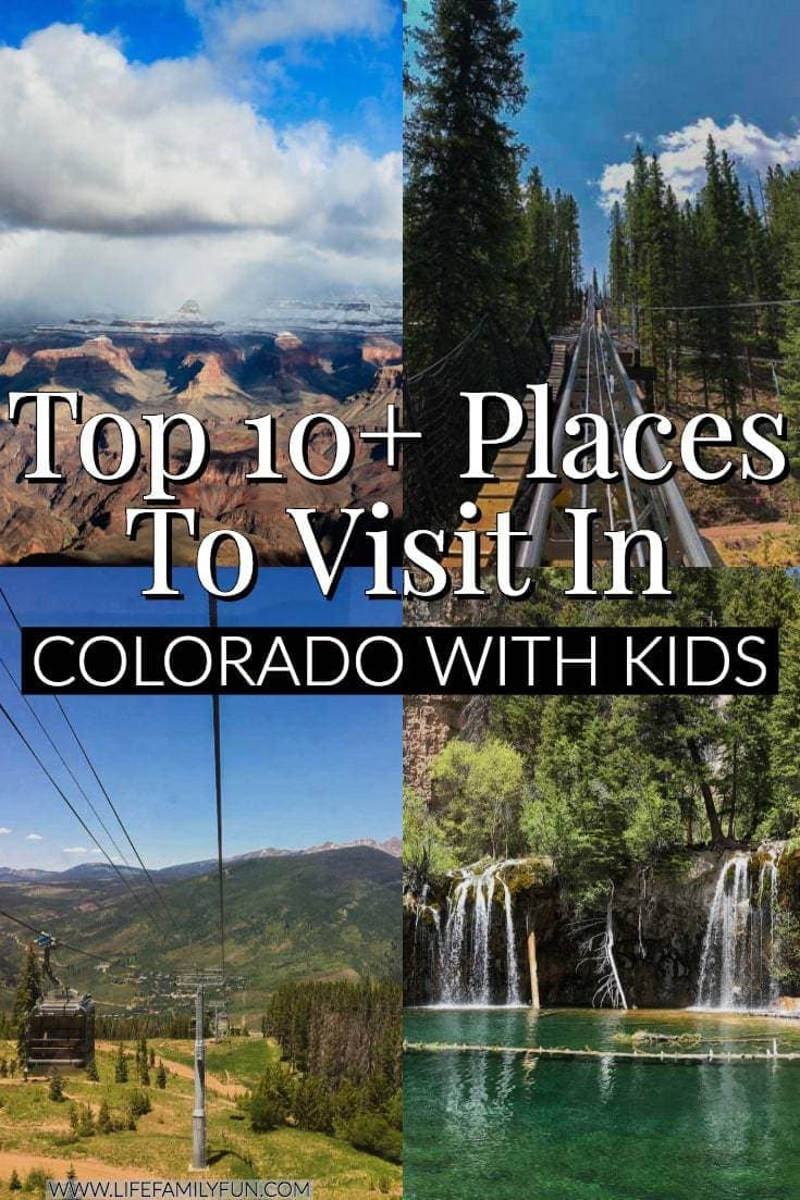 Top Family Friendly Things to Do in Colorado with Kids - Warm sunny days, and cools night in the Colorado Rockies make the perfect family vacation.